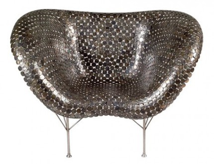 Coin Chair by Johnny Swing.