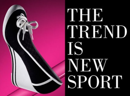 The trend is new sport.