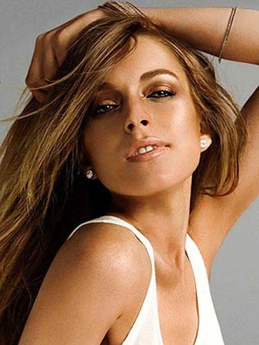 Lindsay Lohan för Sevin Nyne.