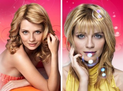 Mischa Barton för Herbal Essences.