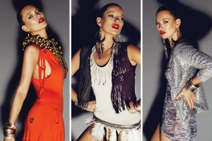 Kate Moss High Summer Collection for Topshop.