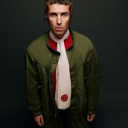 Liam Gallagher i kläder från Pretty Green.