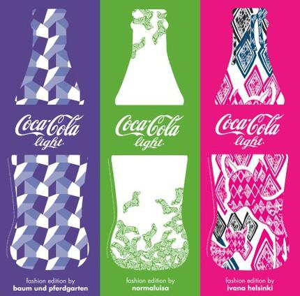 Coca-Cola i samarbete med stora designers.