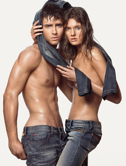 Benetton-denim-couple