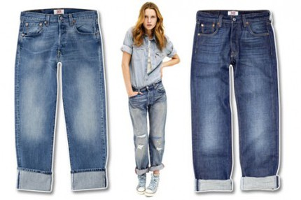 Levi's 501 Jeans – now cut for women!