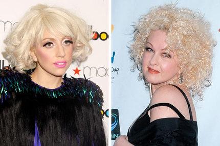 Lady Gaga och Cyndi Lauper designar läppstift.