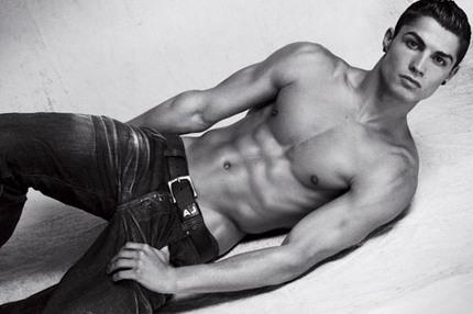 Cristiano Ronaldo för Armani Jeans
