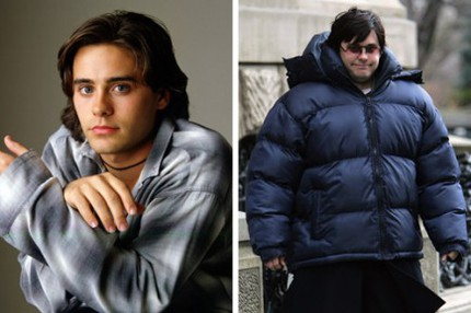 "Jared Leto i ""My So-Called Life"" 1994 och ""Chapter 27"" 2006."