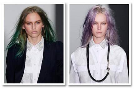 Catwalk till kändis: Pastellfärgat hår