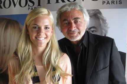 Baaam träffade stjärnfrisören Franck Provost när han var i Stockholm.