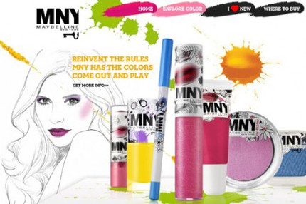 MNY - prisvärd och färgglad makeup