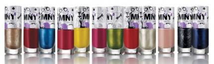 Färgglada nagellack från MNY.