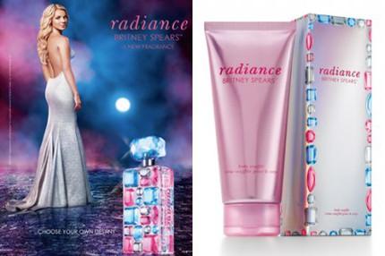 "Britney Spears nya doft ""Radiance"" lanseras vecka 37 2010."