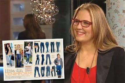 """VIDEO: Hulda pratar jeans i """"Förkväll"""""""