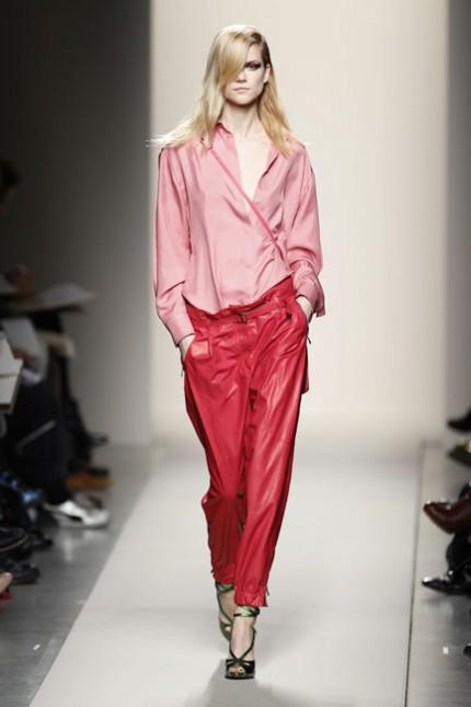 Rött och rosa hos Bottega Veneta, A/W 2010.