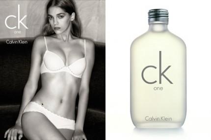 CK One, nu även som underkläder