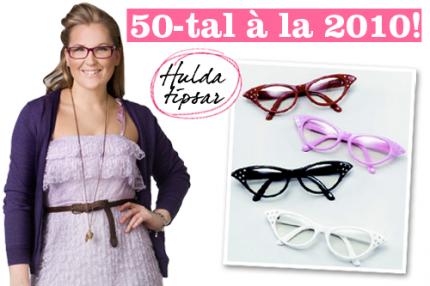 """Hulda i """"Förkväll"""": 50-tal à la 2010!"""