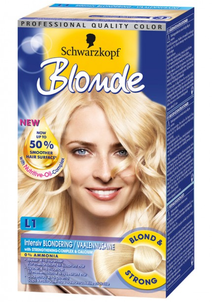 Blonde Oil-Nutritive Blondering L1 från Schwarzkopf.