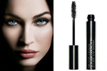 Megan Fox gör reklam för Eyes To Kill mascara från Giorgio Armani Beauty.