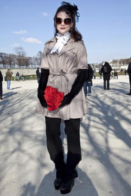 Trenchcoat under Paris Fashion Week, A/W 2010.