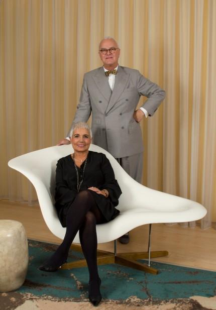 Rosa Tous och Manolo Blahnik.