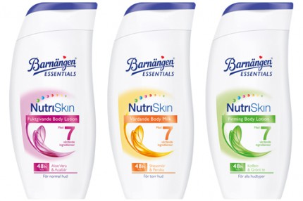 Barnängen NutriSkin body lotion, 35 kr/250 ml.
