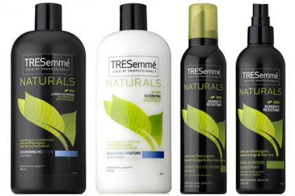 shampoo och balsam utan silikon