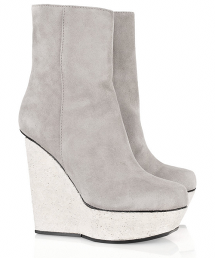 Hydro suede wedge boots från Acne/Net-a-porter.com, 4 139 kr.