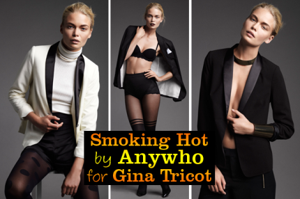 """Smoking Hot"" by Anywho for Gina Tricot."