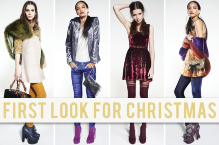 Topshop Christmas Collection 2011.