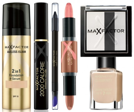 Max Factor-smink, Carin Wester, A/W 2012.