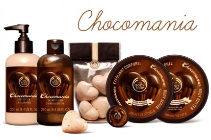 The Body Shop har chokladmani!