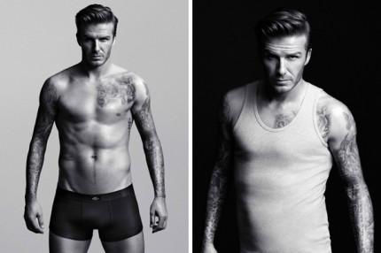 David Beckham lanserar underkläder för män på H&M