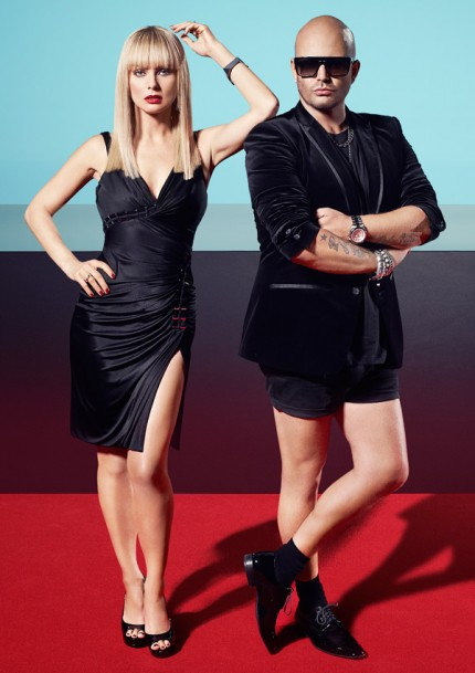 """Izabella Scorupco och Jonas Hallberg leder """"Top Model Sverige"""" 2012."""
