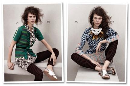 LOOKBOOK: Marni at H&M, spring 2012