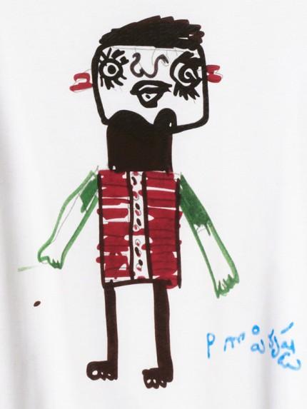 Marni och H&M har tagit fram en T-shirt till förmån för Röda Korset.