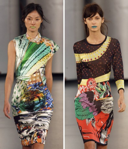 Mary Katrantzou, spring/summer 2012.
