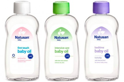 Natusan Baby Oil, 28 kr/200 ml.