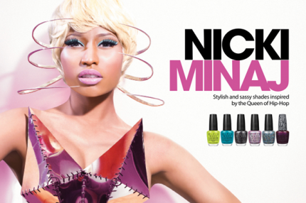 Nicki Minaj OPI Nail Lacquer Collection 2012
