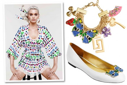BILDSPEL: Versace for H&M cruise collection