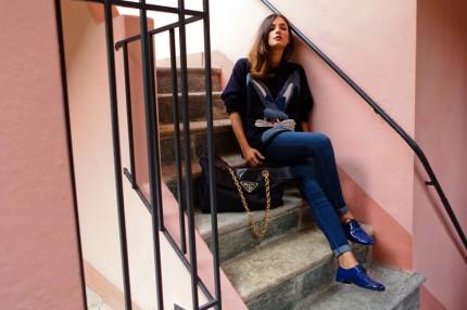 Eleonora Carisi från bloggen JouJouVilleroy.com.