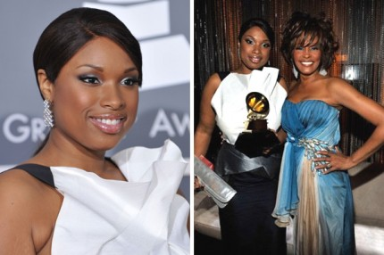 Jennifer Hudson fick en Grammy av Whitney Houston 2009.