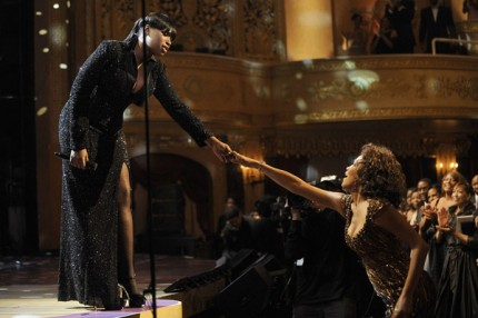 Jennifer Hudson sjöng för Whitney Houston på BET Honors 2010.
