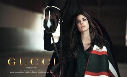 Prinsessan Charlotte Casiraghi för Gucci.