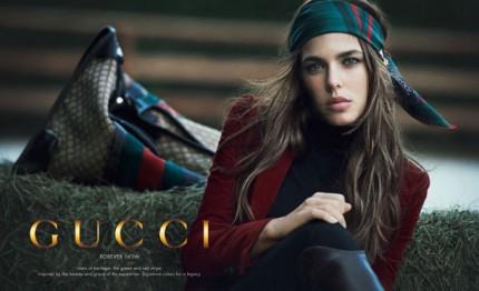 Prinsessan Charlotte Casiraghi för Gucci