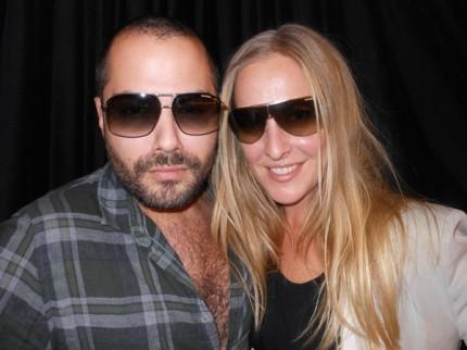 Emir Kapetanovic och Corinne Henriksson.