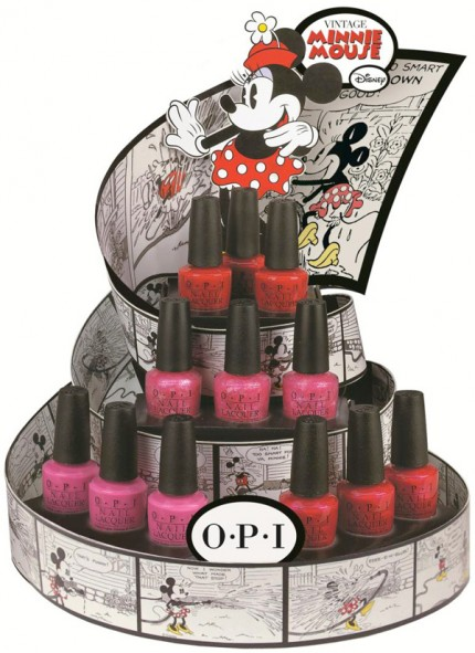Vintage Minnie Mouse Collection by OPI.