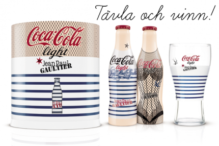 Coca-Cola light by Jean Paul Gaultier.