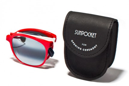 Sunpocket for Opening Ceremony.