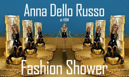 "Anna Dello Russo at H&M - ""Fashion Shower""."